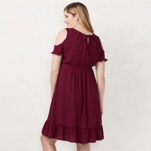 f50a6b9cfeed0 LC Lauren Conrad Dresses - LC Lauren Conrad Maternity Dress Cold Shoulder